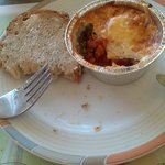 Baked eggs were great!