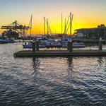 View from Kincaids at Jack London Square.