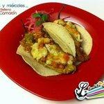 Tacos de Chile Relleno de Camarón