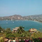 Perfect view of Zihuatanejo Bay