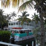 The dive boat - fun!