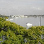 view from the restaurant of the Parramatta River