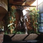 Elephant Statue by the Front Entry