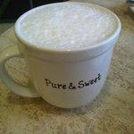 Vanilla bean latte