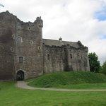 Castle where Monty Python was filmed.