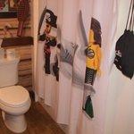 Baño habitación pirata
