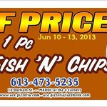 1 pc fish&chips