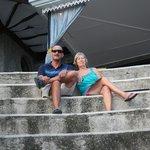 Rob and Marg at Villa Calitas