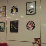 Interior Decor at Denny's in Tuscola