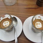 Macchiatos with a smile