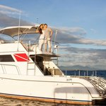 Private yachting is one of the activities at the resort
