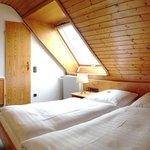 Economy Doppelzimmer im Dachgeschoss