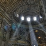 The dome of St. Peter's Basilica, Rome