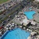 Vista camera: piscina hotel