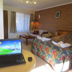 ADSL 2 broadband and Wi-Fi in all rooms to keep you connected during your stay