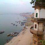 Ganges from the room