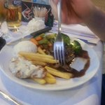 Pepper Steak and Chips