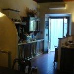 l'angolo della cucina