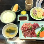 Niku no Yamamoto Yakiniku Lunch 1050 yen - recommend steak lunch instead