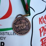 The BRONZE MEDAL our spirit received at the 2013 World Spirit Competition, in Hungary!