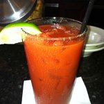 My First Bloody Mary Ever...Thanks Sheila
