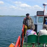 Our Tour Guide at Clewbay Cruises, Westport