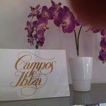 En el SPA tienen productos de la marca Campos de Ibiza, que me encanta