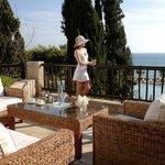 Dionyssos terrace for drinks & Snacks