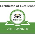 PAPANNIS WINNER OF THE TRIPADVISOR 2013 CERTIFICATE OF EXCELLENCE THNAKS FOR YOU SUPPORT