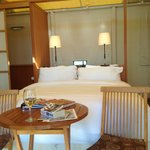 Interior of tent-house suite