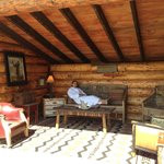 One of the yurts