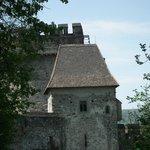 Ingresso mura e dietro la torre quadrata