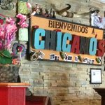 Chicano's entry area