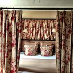 Great bed in Ralph Lauren Suite