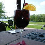 Sangria outside seating