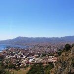 Sequenza di Panorama sul Golfo di Palermo.