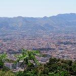 Panorama sulla città di Palermo.