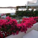 Vackert på vår balkong