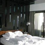 La habitación.