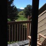 Nice sunny deck