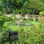 Lovely English garden