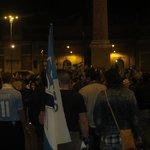Lazio beats Roma celebration