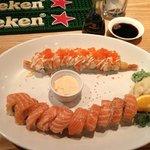 The Cowfish Sushi Rolls- Fantastic