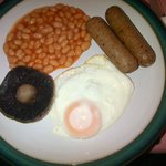 My vegetarian friendly breakfast