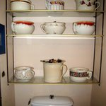 Lovely collection of antique toilet pots