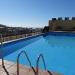 L'autre piscine, sur la terrasse