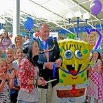 Danni Harmer & Spongebob open the newly refurbished Maidstone Leisure Centre