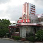 Diner down the road with GREAT burgers and ambiance!