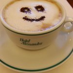 Start your day off great with a smiley cappuccino and a wonderful breakfast!