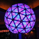 2012 NYE Ball on Display at TS museum. It flashes all LED's! Cool!